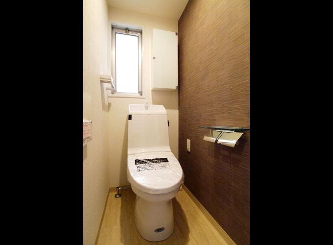 戸建リフォーム後:トイレ