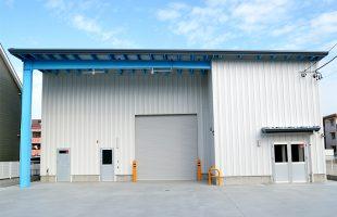 商業施設 H様:事務所付き倉庫