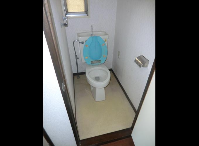 マンションリフォーム前:トイレ