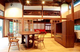 浜松市 I様邸 古民家再生住宅:リフォーム後:リビング